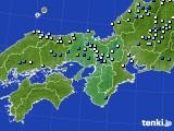 近畿地方のアメダス実況(降水量)(2019年09月11日)