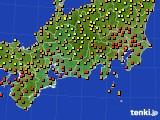 2019年09月11日の東海地方のアメダス(気温)