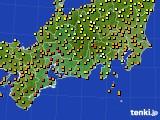 2019年09月12日の東海地方のアメダス(気温)