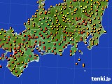 2019年09月15日の東海地方のアメダス(気温)