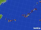 2019年09月16日の沖縄地方のアメダス(気温)
