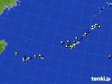2019年09月19日の沖縄地方のアメダス(風向・風速)