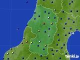 2019年09月23日の山形県のアメダス(日照時間)