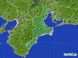 2019年09月27日の三重県のアメダス(気温)