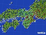 近畿地方のアメダス実況(日照時間)(2019年09月29日)