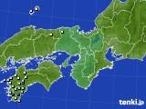 近畿地方のアメダス実況(降水量)(2019年10月02日)