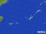 2019年10月14日の沖縄地方のアメダス(降水量)