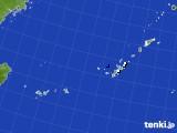 2019年10月22日の沖縄地方のアメダス(降水量)