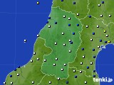 山形県のアメダス実況(風向・風速)(2019年11月01日)