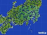 関東・甲信地方のアメダス実況(日照時間)(2019年12月06日)