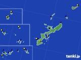 沖縄県のアメダス実況(風向・風速)(2019年12月07日)