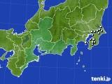 東海地方のアメダス実況(降水量)(2019年12月19日)