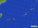 2019年12月19日の沖縄地方のアメダス(日照時間)
