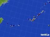 2019年12月22日の沖縄地方のアメダス(日照時間)