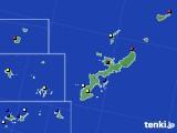 2019年12月26日の沖縄県のアメダス(日照時間)