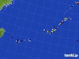 2019年12月27日の沖縄地方のアメダス(日照時間)