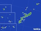 2019年12月29日の沖縄県のアメダス(日照時間)