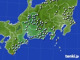 東海地方のアメダス実況(降水量)(2019年12月30日)