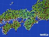 近畿地方のアメダス実況(日照時間)(2020年01月01日)