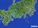 東海地方のアメダス実況(気温)(2020年01月01日)