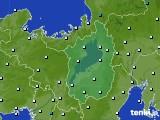 滋賀県のアメダス実況(気温)(2020年01月01日)