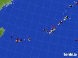 2020年01月02日の沖縄地方のアメダス(日照時間)
