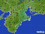 三重県のアメダス実況(日照時間)(2020年01月02日)