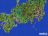 東海地方のアメダス実況(日照時間)(2020年01月03日)