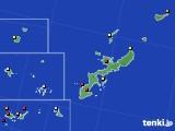 2020年01月03日の沖縄県のアメダス(日照時間)