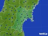 2020年01月03日の宮城県のアメダス(気温)