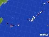 2020年01月04日の沖縄地方のアメダス(日照時間)