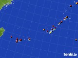 2020年01月05日の沖縄地方のアメダス(日照時間)