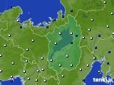 2020年01月05日の滋賀県のアメダス(風向・風速)