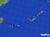 2020年01月08日の沖縄地方のアメダス(日照時間)