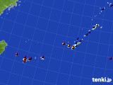 2020年01月11日の沖縄地方のアメダス(日照時間)