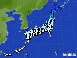 アメダス実況(気温)(2020年01月12日)