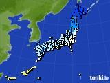 アメダス実況(気温)(2020年01月14日)