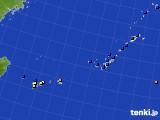 2020年01月17日の沖縄地方のアメダス(日照時間)