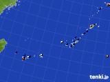 2020年01月18日の沖縄地方のアメダス(日照時間)