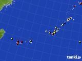 2020年01月21日の沖縄地方のアメダス(日照時間)