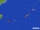 2020年01月24日の沖縄地方のアメダス(日照時間)
