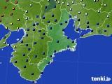 2020年01月26日の三重県のアメダス(日照時間)