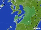 2020年01月27日の熊本県のアメダス(降水量)