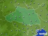 埼玉県のアメダス実況(降水量)(2020年01月28日)