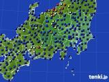 関東・甲信地方のアメダス実況(日照時間)(2020年01月28日)