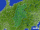 長野県のアメダス実況(気温)(2020年01月28日)