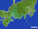 東海地方のアメダス実況(降水量)(2020年01月29日)