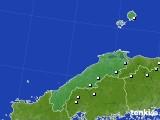 島根県のアメダス実況(降水量)(2020年01月29日)