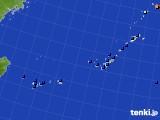 沖縄地方のアメダス実況(日照時間)(2020年01月29日)