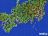 東海地方のアメダス実況(日照時間)(2020年01月29日)